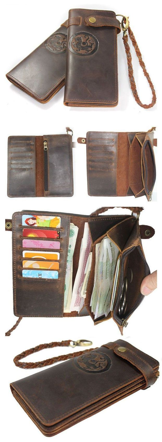 Handmade Leather Wallet by Neo