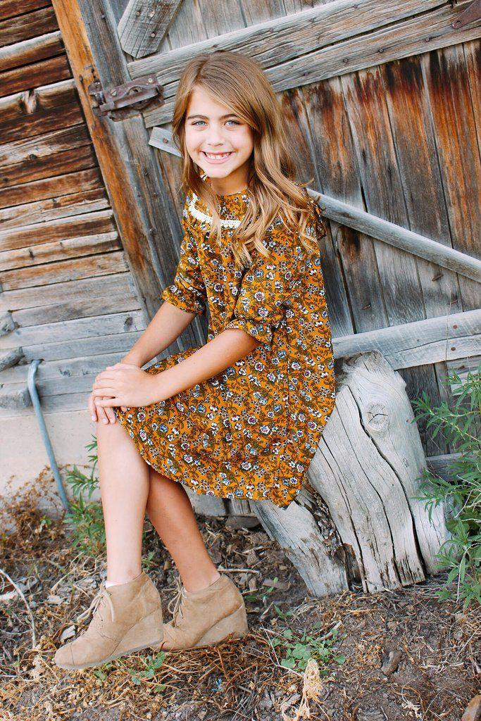 9722a67b63641 GIRLS-PRAIRIE DRESS – Moonbeam Apparel | Girls Clothing | Dresses ...