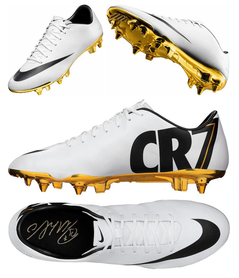 pretty nice b37a2 3ca74 Los botines que  Nike lanzará para homenajear a Cristiano Ronaldo por su  balón de oro.  HalaMadrid Real Madrid.