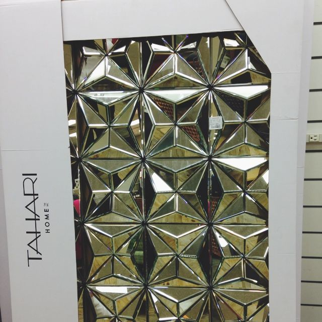 I saw this mirror in my local Homegoods and was going to ...