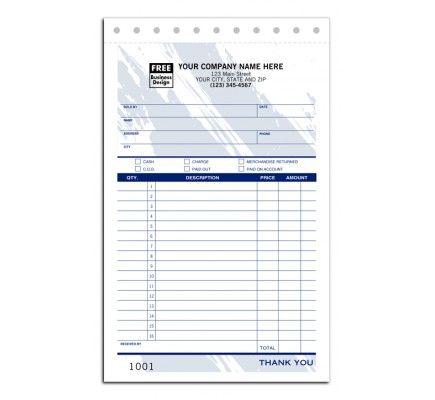 sales receipt snapsets item no 81t size 5 2 3 x 8 1 2 business