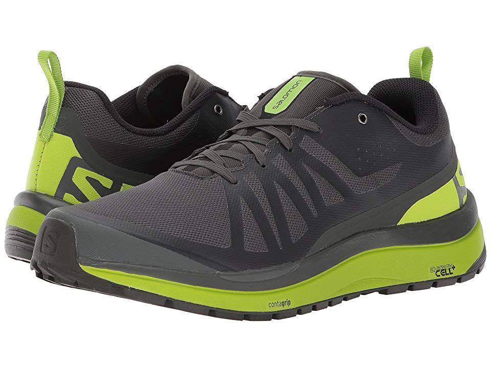 8329c5be Salomon Odyssey Pro (Beluga/Lime Green/Black) Men's Shoes. Blaze a ...