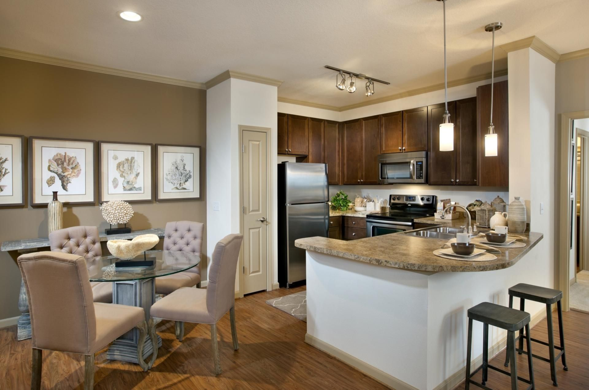 Kitchen at Camden Westchase Park Apartments in Tampa