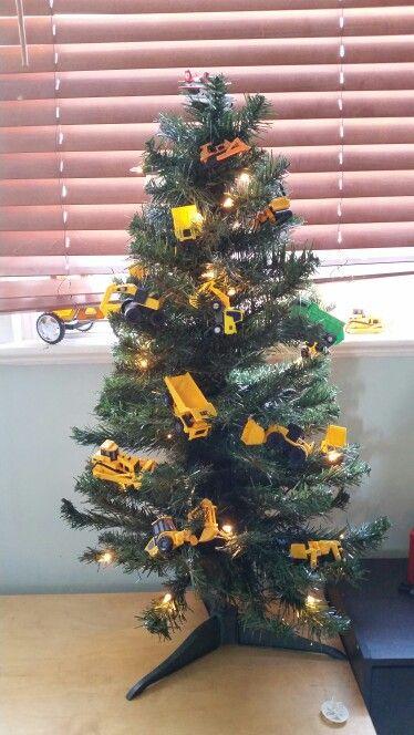 Construction Theme Christmas Tree Christmas Tree Themes Holiday Christmas Tree Christmas Tree