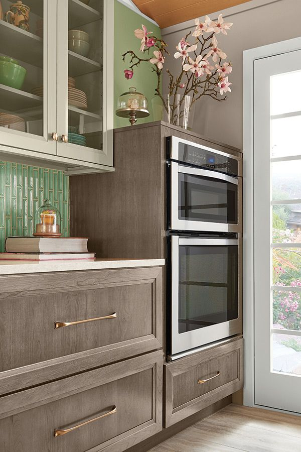 Contemporary Cool   Kraftmaid kitchen cabinets, Cost of ...