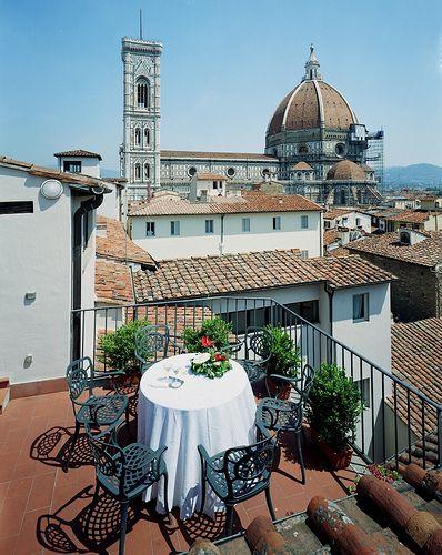 Hotel Brunelleschi La Terrazza Panoramica Sulla Cupola Del
