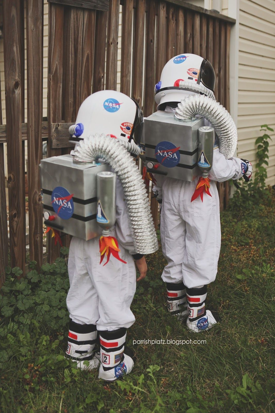 I did not make the girls costumes this year! Only the jet packs (that double as a trick-or-treat bag!). I love making costumes but on...