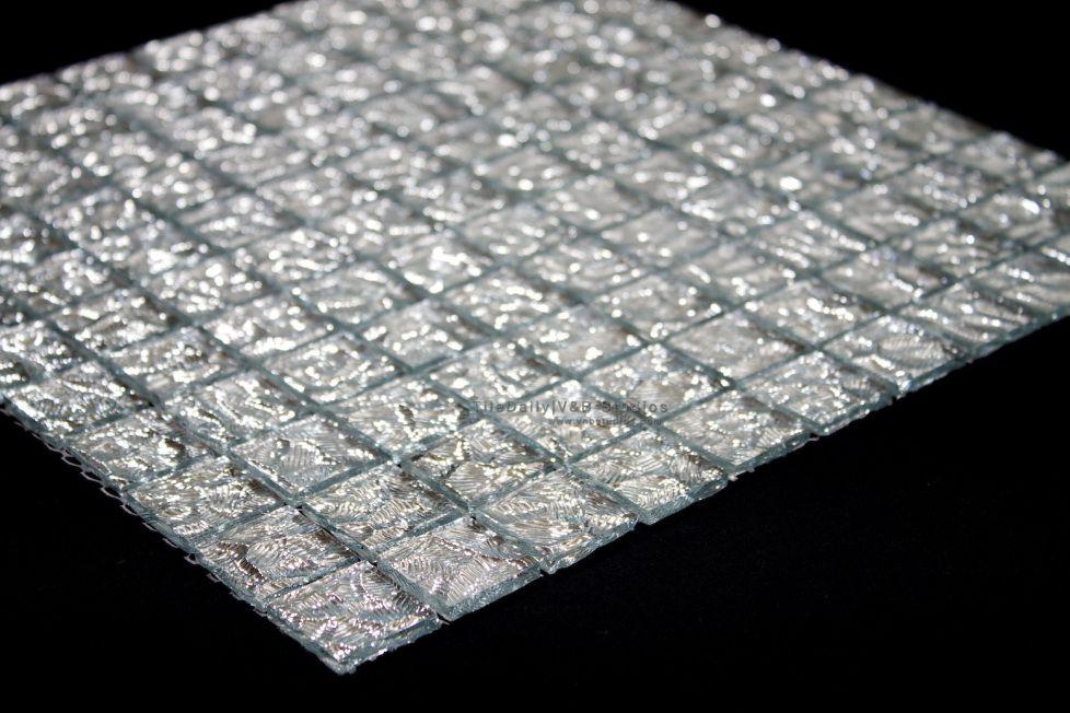 Silver Ed Ice Gl Mosaic Tile Tiledaily