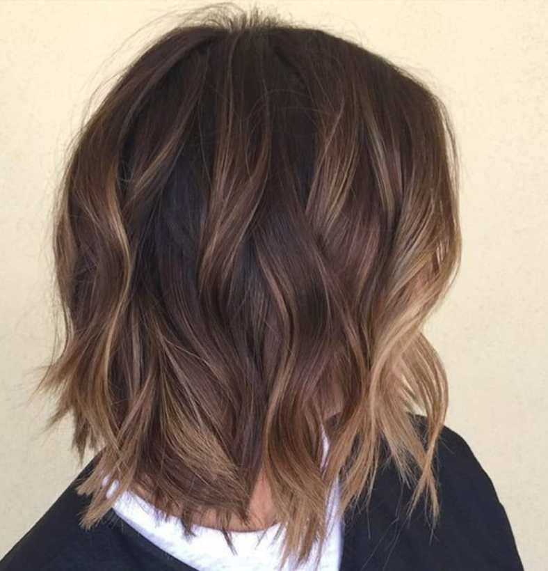 hair style layered 70 flattering balayage hair color ideas for 2018 7316