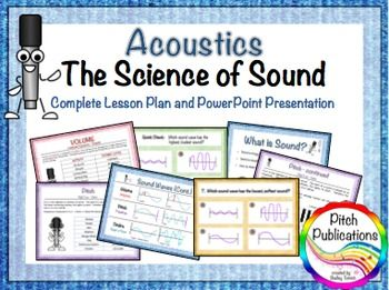 Science Of Sound Unit Music  Science Lesson Presentation