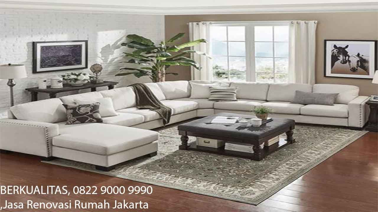 Jasa Renovasi Rumah Jakarta 0822 9000 9990 Terbaik In 2020 Sectional Living Room Layout Farm House Living Room Elegant Living Room #serta #living #room #furniture