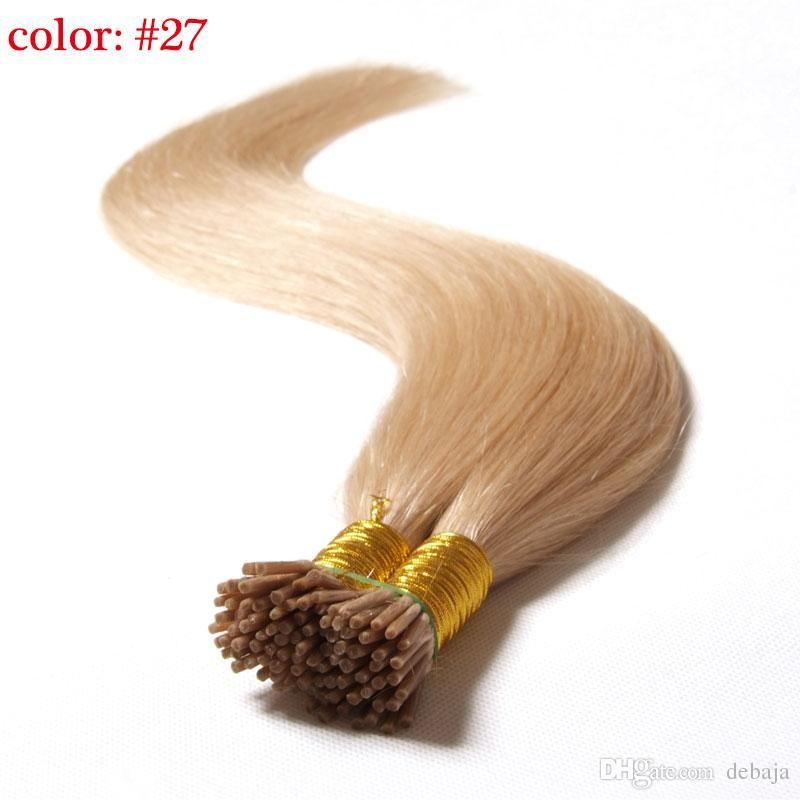 Fashion Pre Bonded Fusion Human Hair Extensions Cheap Brazilian