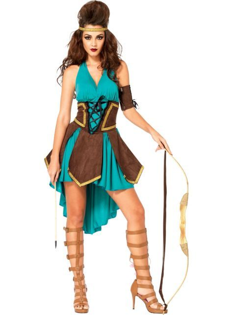 Adult Celtic Warrior Costume - Party City Halloween Costume Ideas - halloween girl costume ideas