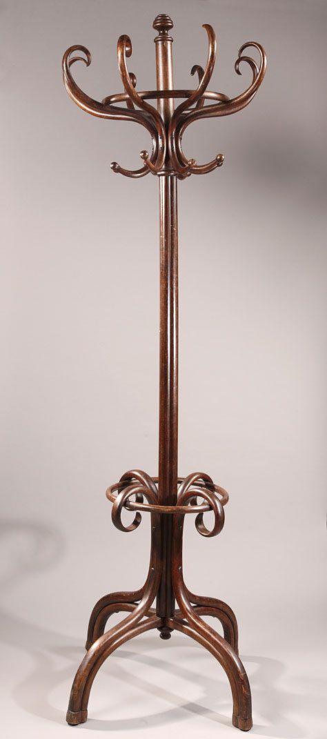 ART NOUVEAU THONET COAT RACK 1900