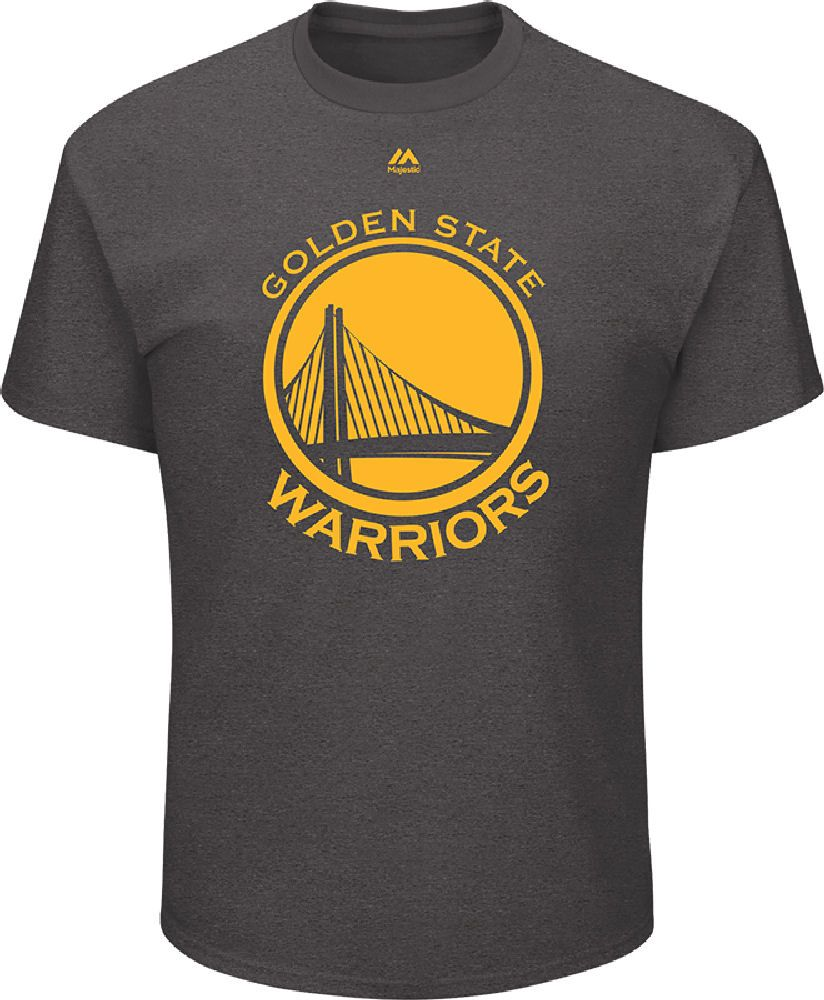 Golden State Warriors Mens Charcoal Relentless Preparation Short Sleeve T Shirt $27.95 (With ...