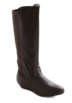 Espresso Lane Boot, from ModCloth.  If only it came in a wider calf!