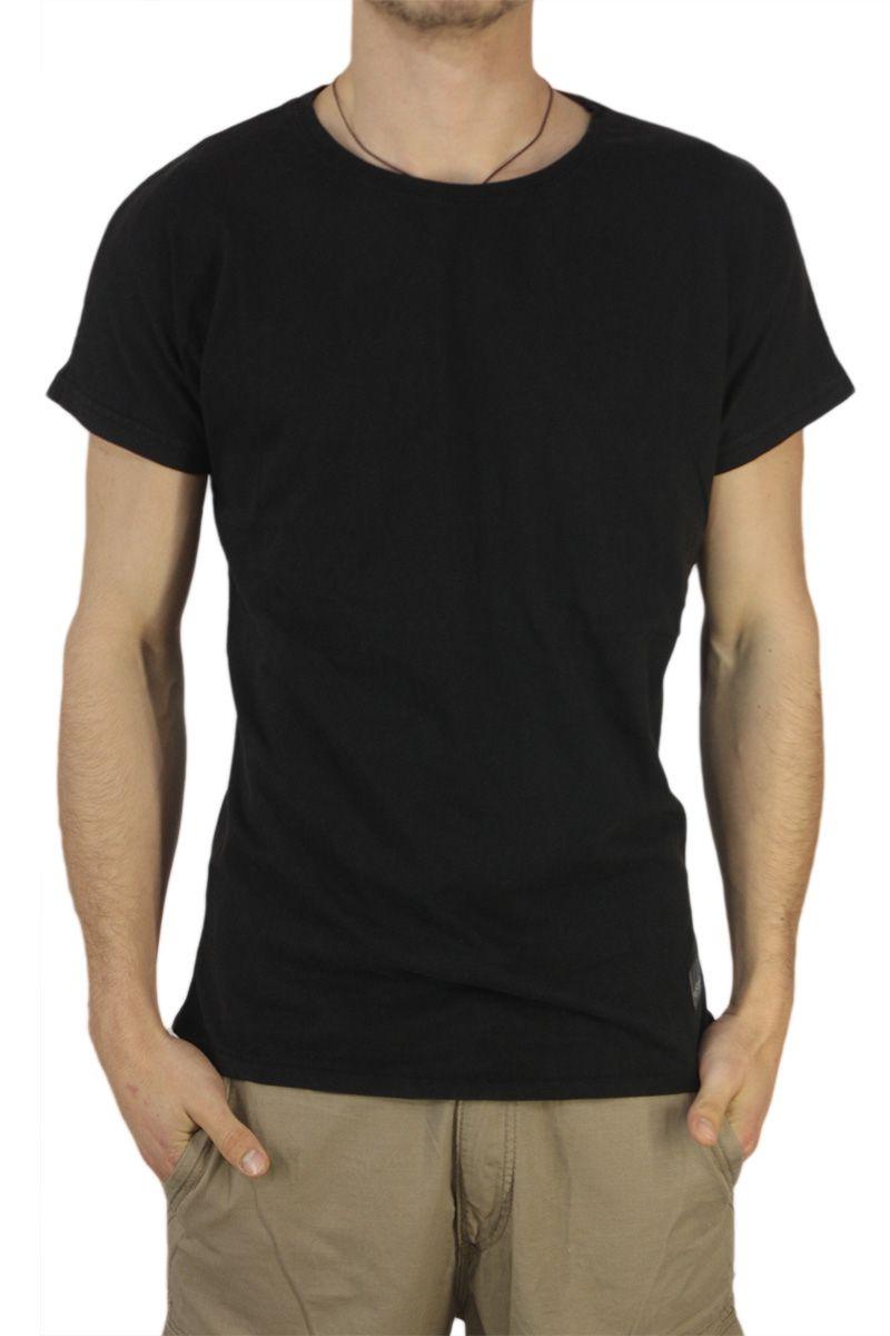 Anerkjendt ανδρικό longline t-shirt Trung μαύρο - http://men.bybrand.gr/anerkjendt-%ce%b1%ce%bd%ce%b4%cf%81%ce%b9%ce%ba%cf%8c-longline-t-shirt-trung-%ce%bc%ce%b1%cf%8d%cf%81%ce%bf/