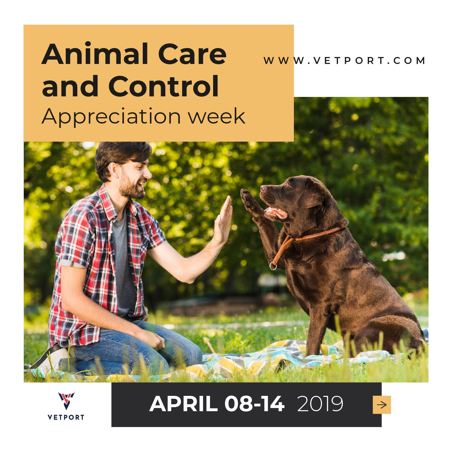 National Animal Care Control Appreciation Week National Animal