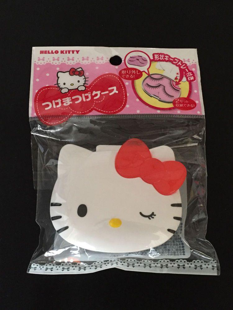 Daiso Japan Hellokitty False Eyelash Case 2 Colors From 299