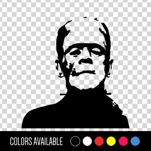 Frankenstein horror classic movie monster vinyl car decal sticker