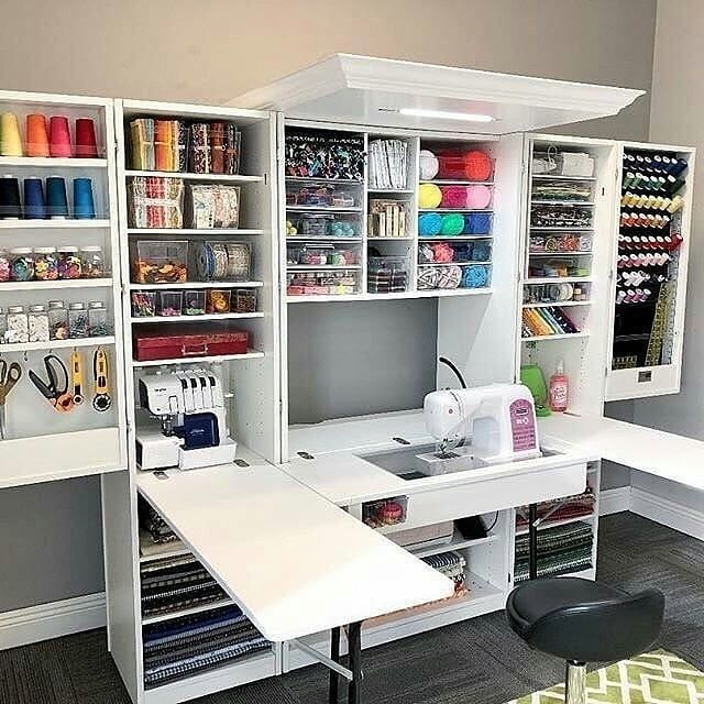 3 116 Likes 77 Comments Love Sewing Vn Love Sewing Vn On Instagram Wowww Such A Beautiful Creat Sewing Room Storage Sewing Room Design Room Storage Diy