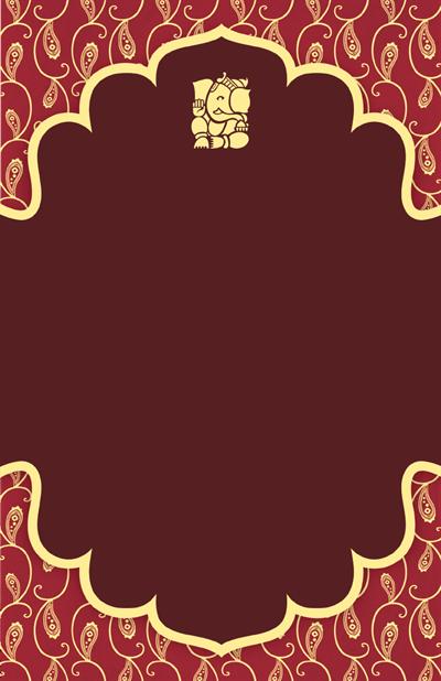 Vertical Flat Invitation 6 X9 Wedding Invitation Background Indian Wedding Cards Hindu Wedding Cards
