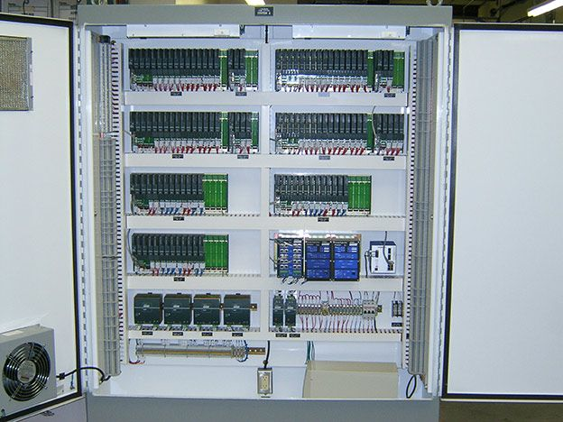 Plc Scada Panel Programmable Logic Controller Plc And