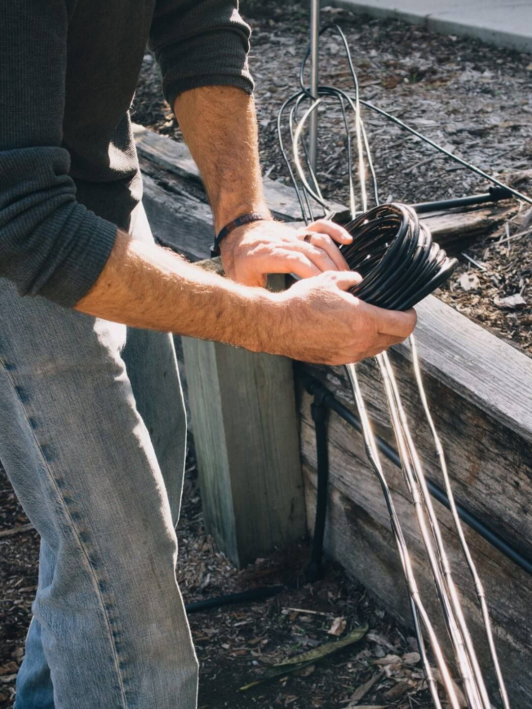 Drip irrigation assembling and installing your system