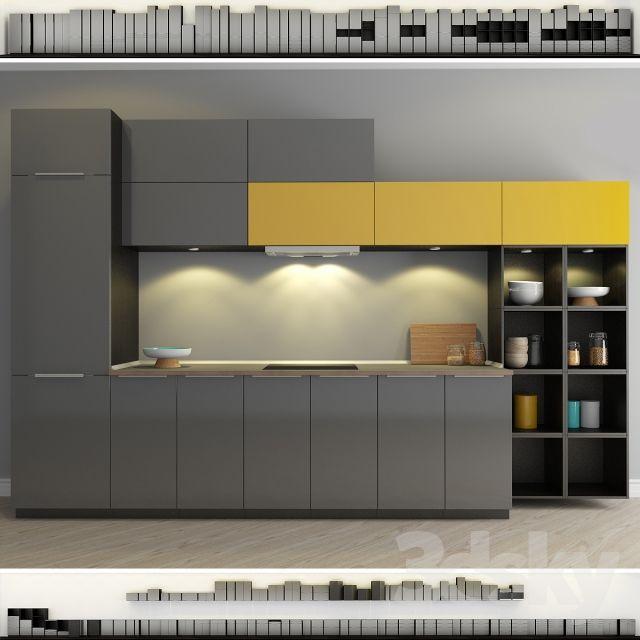 Ikea Kitchen Grey: Kitchen IKEA Method-Ringult (Ringhult)
