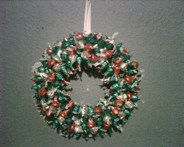 Hershey Kisses Wreath Things Ive Made