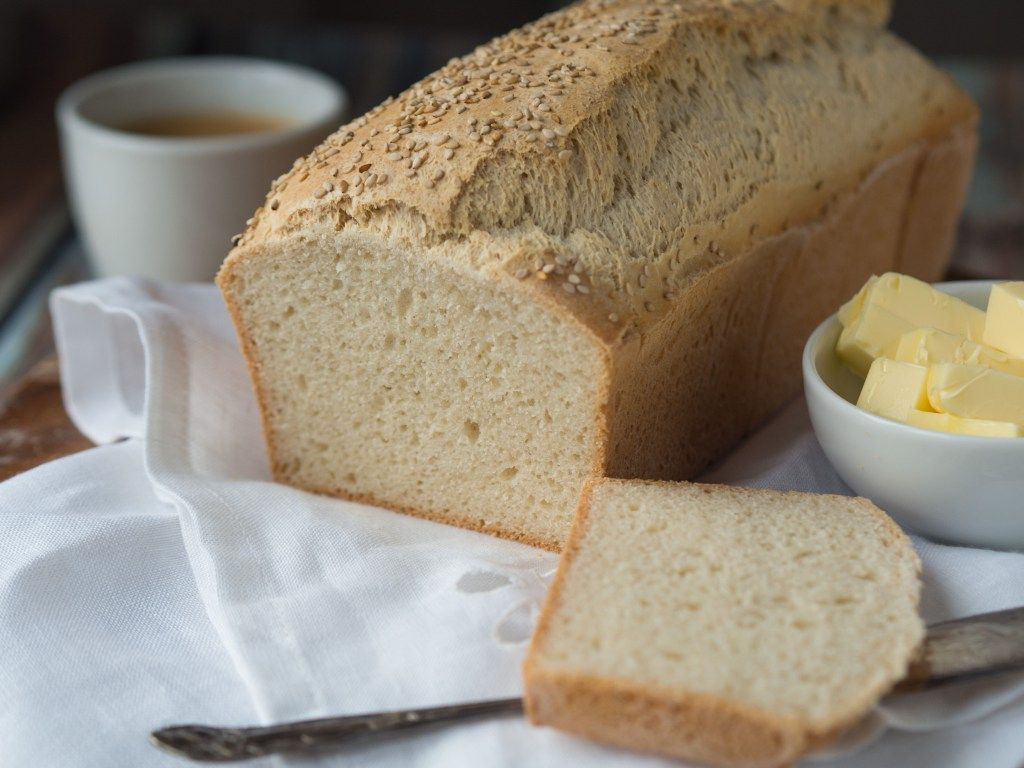 Perfect Gluten-Free Sandwich Bread. Crave bread no more - this is the perfect sliceable sandwich go-to for the gluten sensitive/intolerant. www.taste-affair.com