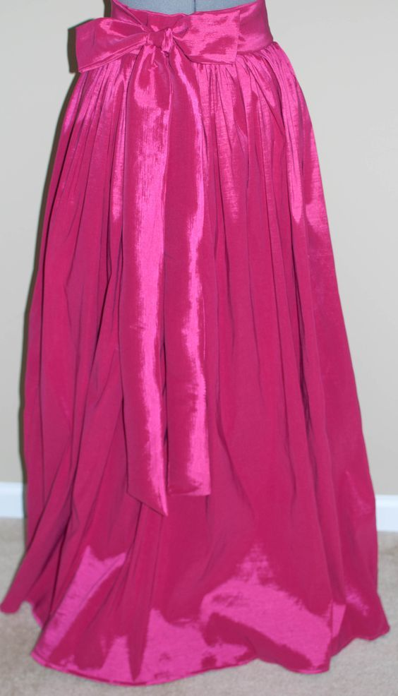 The Ball Gown Skirt DIY: Taffeta Maxi Skirt | Ball gowns ...