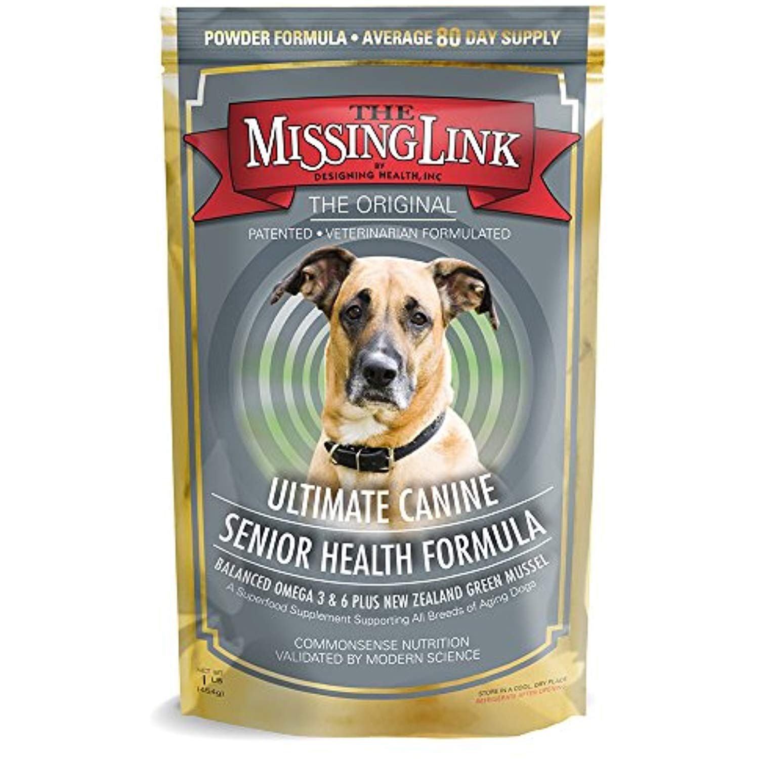 The Missing Link Original All Natural Omega And Superfood Dog Supplement Senior Health 1lb Learn More By Vis With Images Dog Supplements Senior Health Dog Vitamins