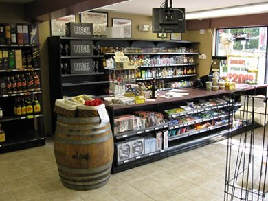 Wine shops checkout counters wine store racks pour for Retail store setup ideas