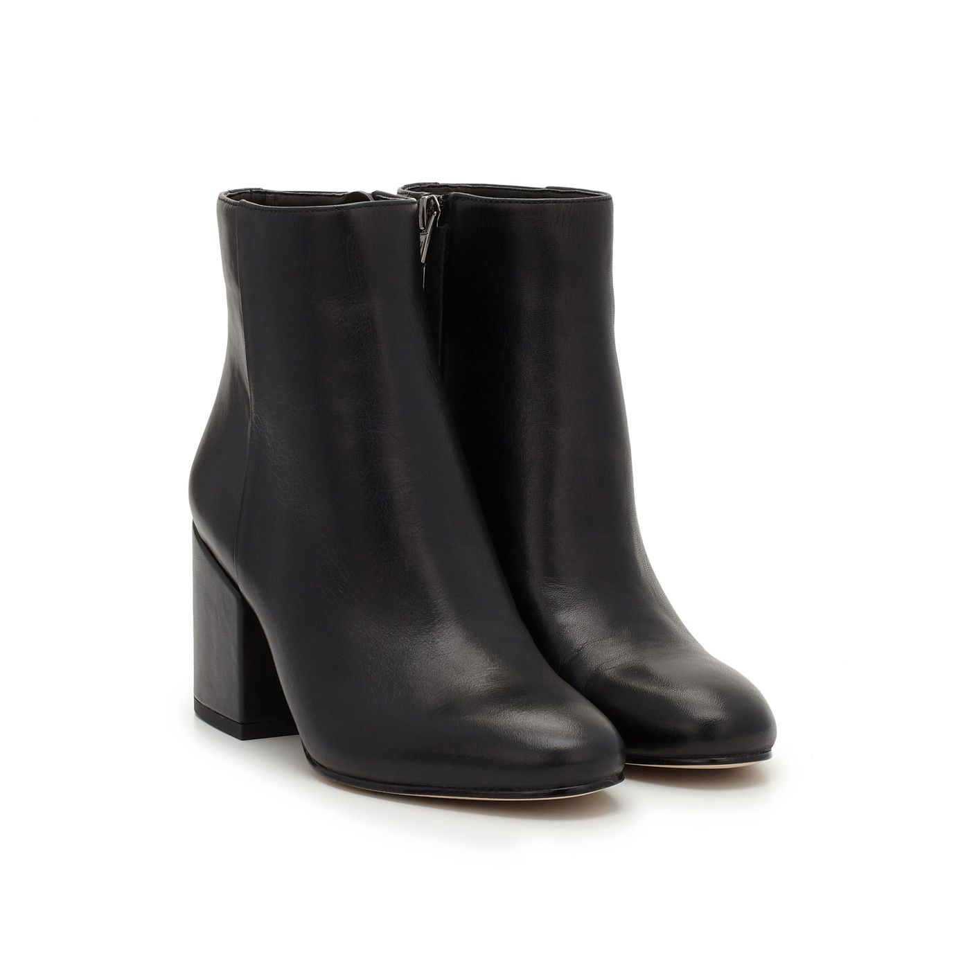 8d234265fd70 Taye Heeled Ankle Bootie by Sam Edelman - Black Leather - View 1 ...