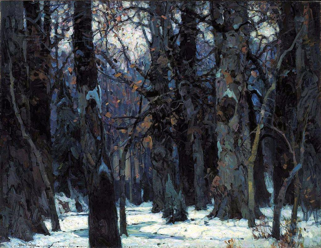 Brooding Silence - John F. Carlson