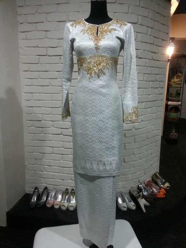Traditional Kurung Modern Songket Tenun Wedding Attire Nikah