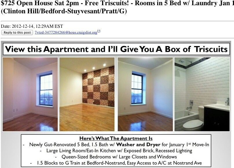 City Apartment You Ll Get A Free Box Of Triscuits Which Is Awesome Free Boxes Apartment Real Estate