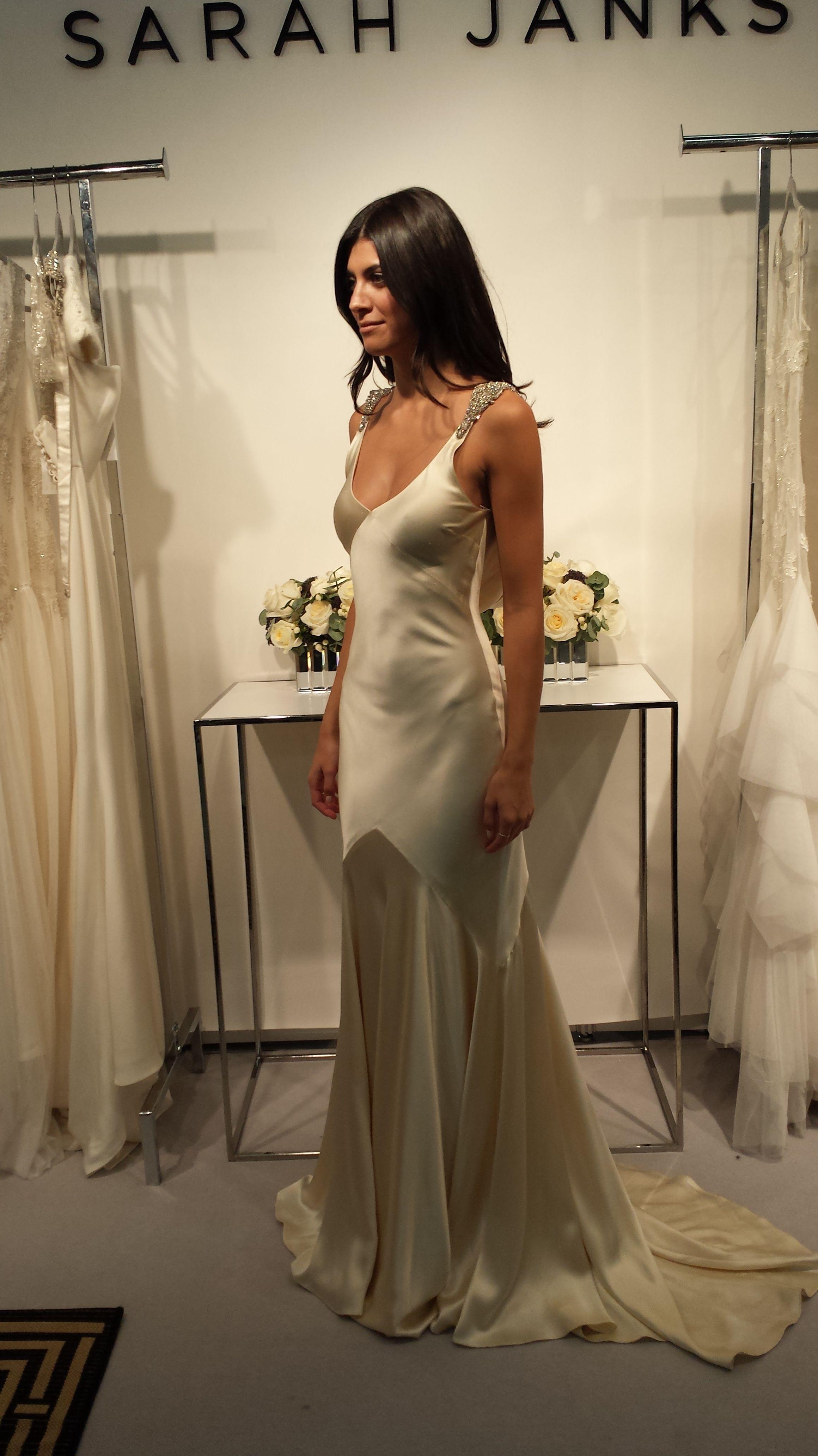 Bias-cut silk charmeuse is so divine...and glamorous! Sarah Janks ...