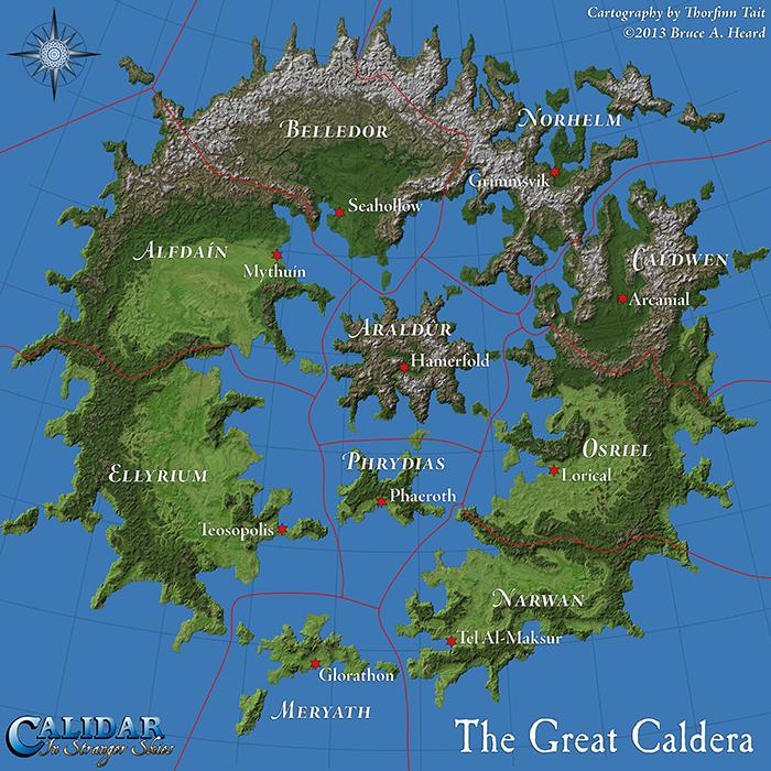 To Stranger Skies RPG Maps