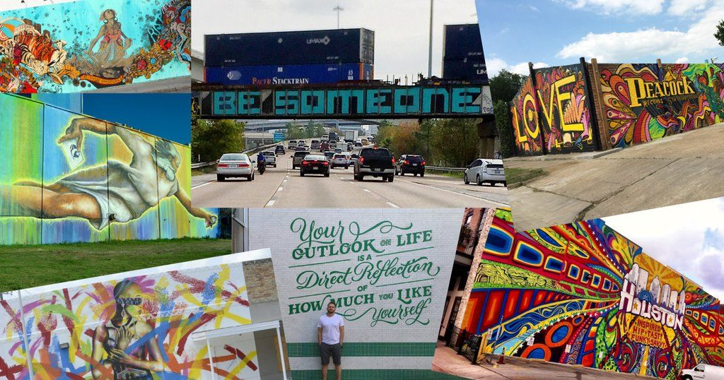 Top 6 Graffiti/Murals in Houston