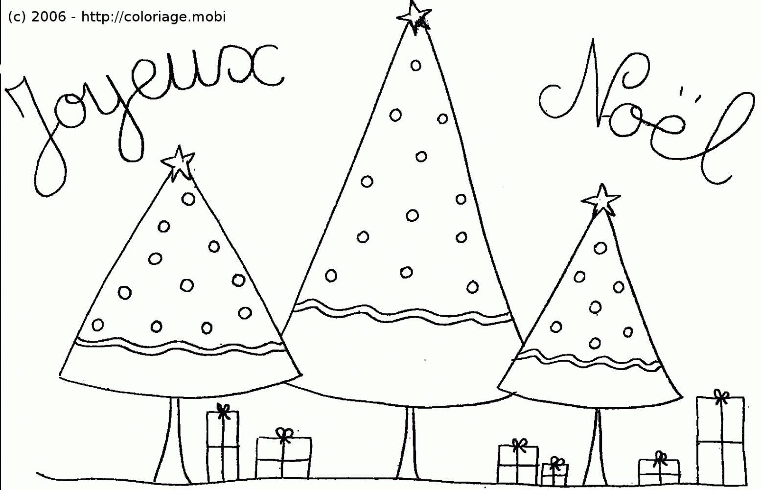 Coloriage De Noel A Imprimer Gratuit