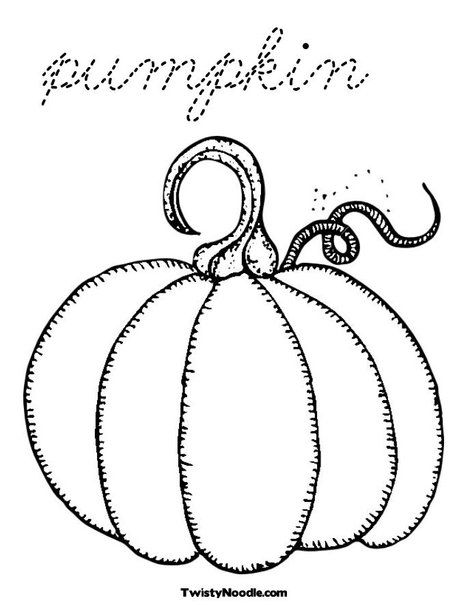 Pumpkin Coloring Page | COLORING PAGES | Pinterest | Bordado