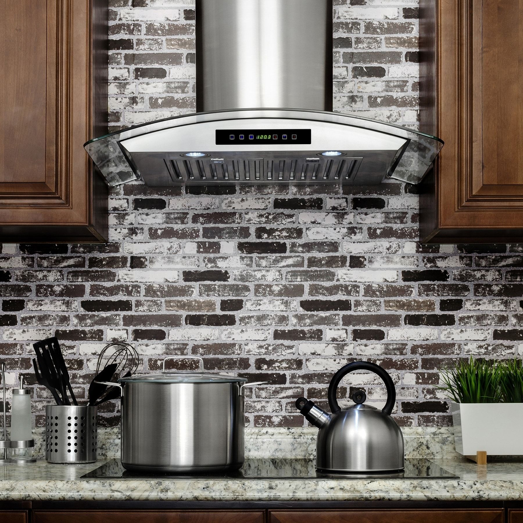 akdy rh0270 30 in convertible wall mount range hood in stainless rh pinterest com
