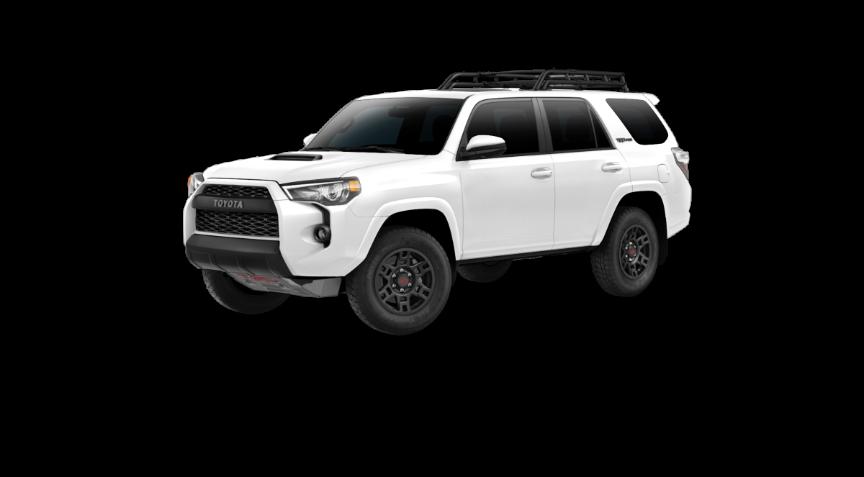 Your 2019 4runner Trd Pro Super White Exterior Front View 4runner Toyota 4runner Trd 4runner Trd Pro