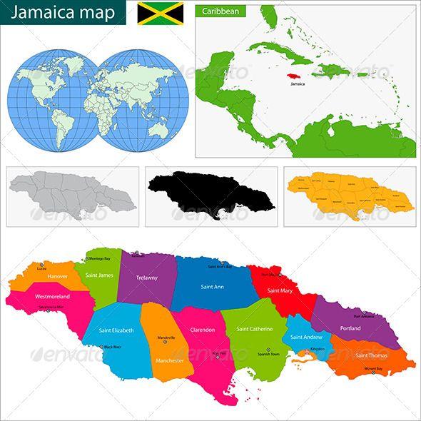 Jamaica map font logo fonts and logos jamaica map gumiabroncs Gallery