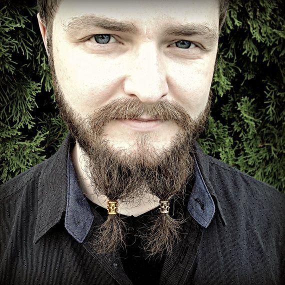5 Bead Beard Bead KIT Custom Selection Viking Beard Rings