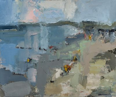 Lisa Noonis - Early Summer Beach Day - The Banks Gallery