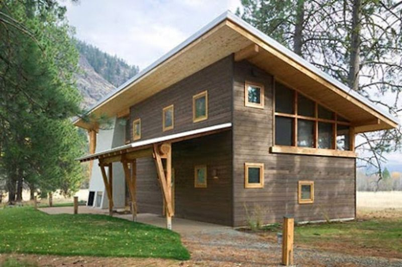 Home Living Small Tiny House | Small Home Ideas, Small Wooden ...