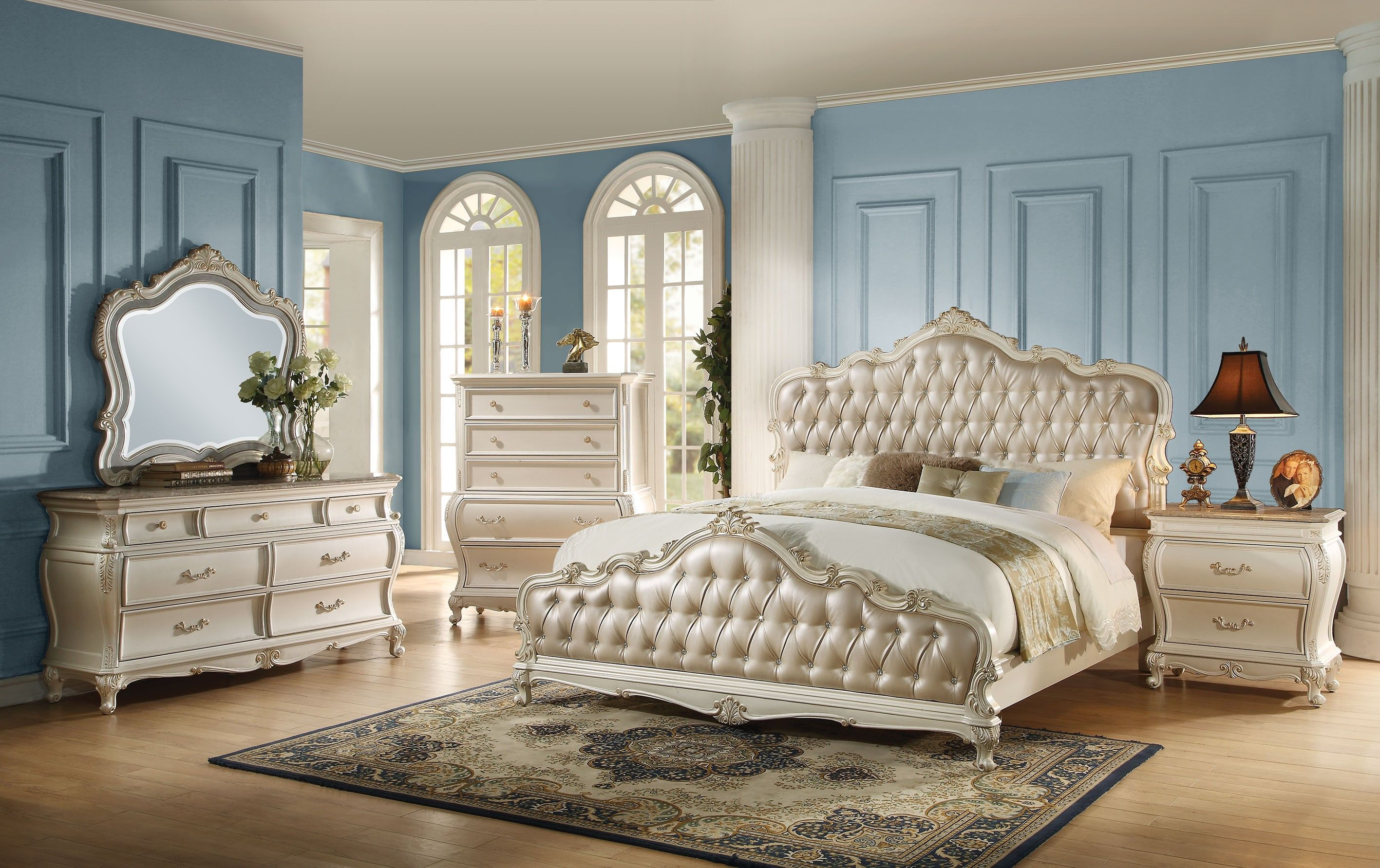 Awesome Beautiful Queen Size Bedroom Sets With